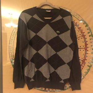 Other - Lacoste argyle sweater